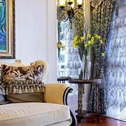 别墅窗帘设计