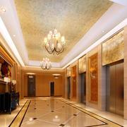 暖色调电梯
