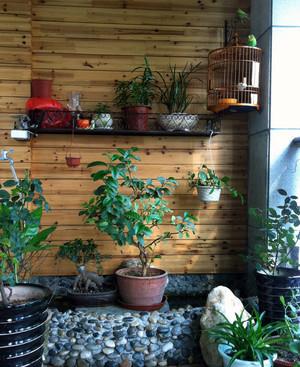 放松休闲绝佳的地方:景色优美露台花园装修效果图
