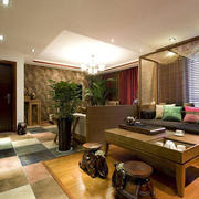东南亚风格两室一厅