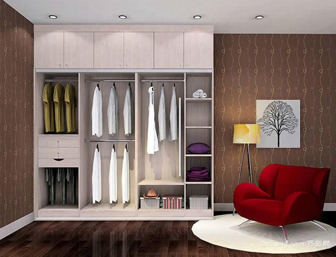 卧室的好搭档:居家必备整体衣柜效果图