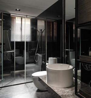 100平米向限间线界分明的内敛后现代风格公寓装修设计