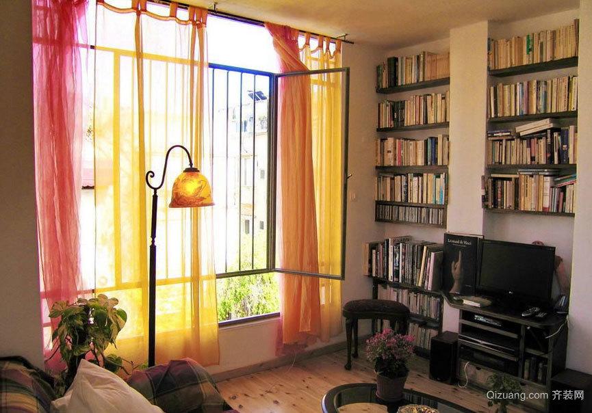 享受安静 住的安逸单身公寓装修效果图