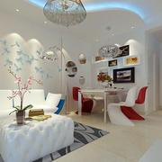 白色清新风格单身公寓