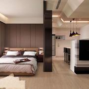 一室一厅卧室效果图