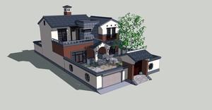 周边环境很好的农村自建房设计图