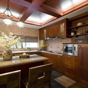 两室一厅厨房吊顶