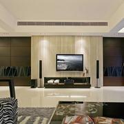 时尚风格电视背景墙