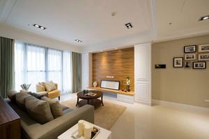 120平米超强格局功能混搭风格两室一厅装修效果图