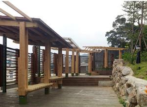 静谧无语的日式双拼花园别墅