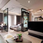 华丽型一室一厅