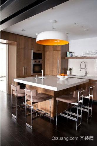 营造和谐就餐气氛:厨房餐厅吊顶效果图