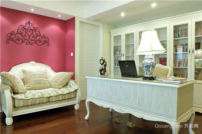 演绎浪漫:120平米复式简欧三居室房屋装修效果图