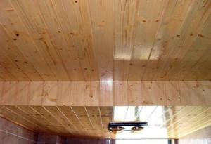 家用客厅桑拿板吊顶效果图