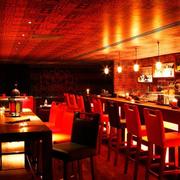 酒吧现代简约风格吊顶装饰