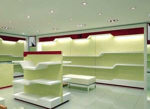 80平米现代简约人气鞋店装修效果图