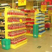 精致超市货架装修