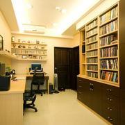 公寓书房效果图