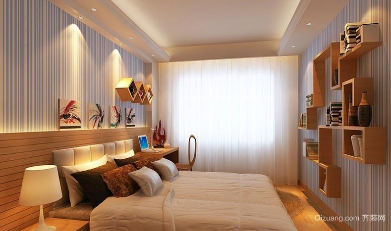 日式卧室壁纸装修效果图