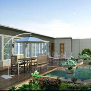 大户型屋顶花园