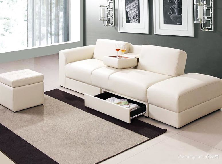 专为小户型人家打造的客厅沙发装修效果图片