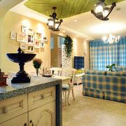 婚房简约地中海风格吊顶装饰
