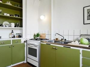 巧妙点缀空间 现代小户型单身公寓装修效果图
