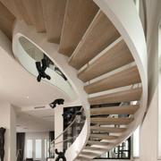 旋转型楼梯设计
