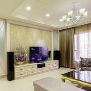 色彩鲜明电视背景墙