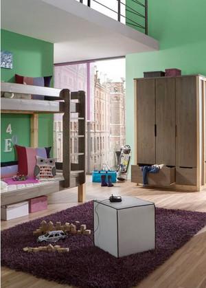 甜美小窝:大户型儿童房婴儿床装修效果图鉴赏