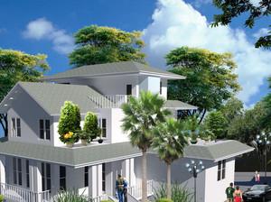 清新秀丽型小别墅设计