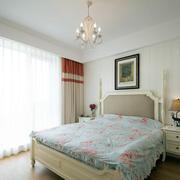 两室一厅简约风格欧式卧室效果图