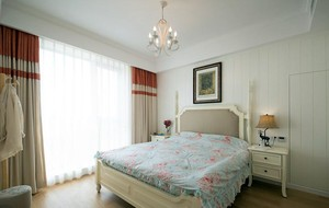闪亮登场:现代浪漫简约两室一厅室内装修设计效果图