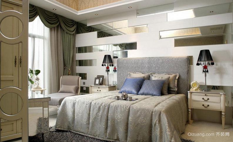 尽显华贵的大户型主卧室装修效果图