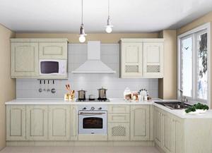 白色清爽厨房