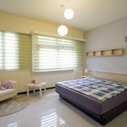 120平米房屋榻榻米房背景墙装饰