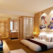 现代创意型卧室壁纸