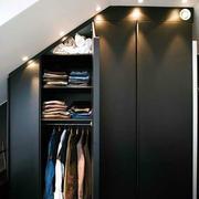 深色调衣柜设计