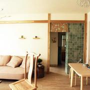 实木材质客厅沙发