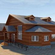 洋气十足的小木屋