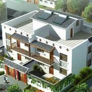 农村房屋俯视图欣赏