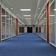 玻璃材质办公屏风