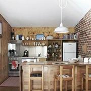 精致型厨房吧台