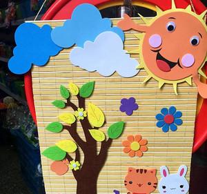 精心设计的幼儿园教室墙面布置图片效果图