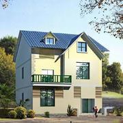 结构严谨的小别墅设计