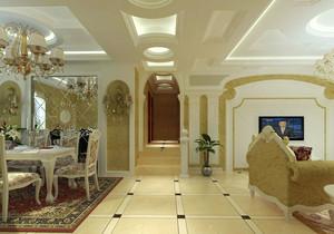 现代设计的典范:大户型客厅地板砖装修效果图大全鉴赏