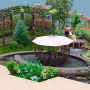 屋顶花园格局设计