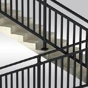 现代创意楼梯扶手