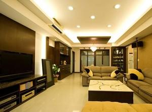 25万塑造100平米的两居室公寓装修效果图