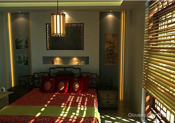 120平米中式宜家小卧室装修效果图